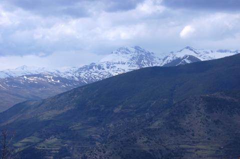 Vista del Montsent de Pallars desde el  Pic de l'Orri